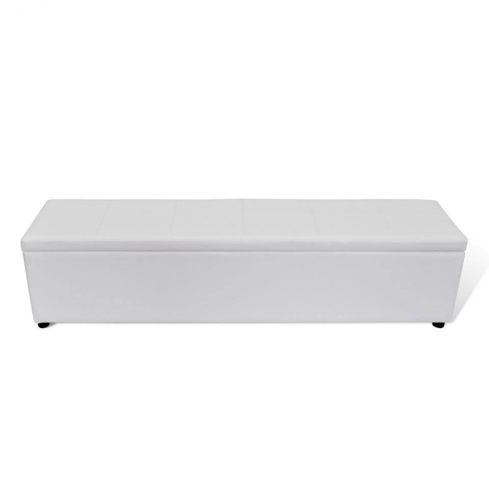 Banquette coffre blanc maison design for Achat banquette