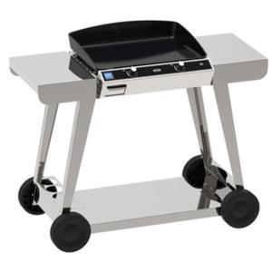 eno plancha chambord 60 sur chariot catgorie barbecue sur pied. Black Bedroom Furniture Sets. Home Design Ideas