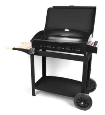 le marquier plancha 3 feux sur chariot catgorie accessoire de barbecue. Black Bedroom Furniture Sets. Home Design Ideas