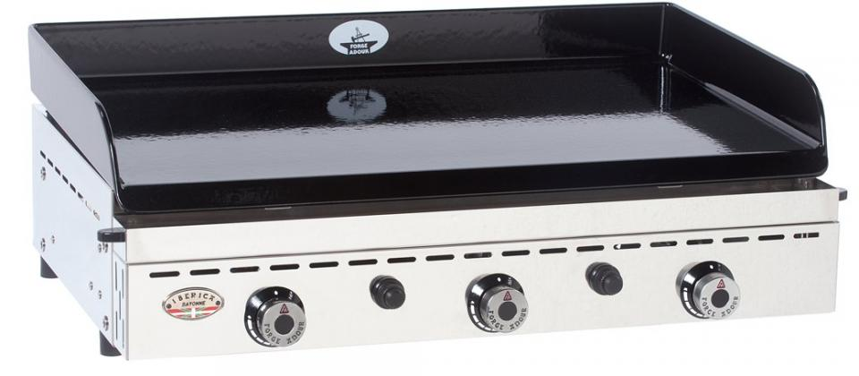 Plancha tonio 0174261 grill stainless steel 8700w catgorie barbecue sur pied for Plancha tonio inox