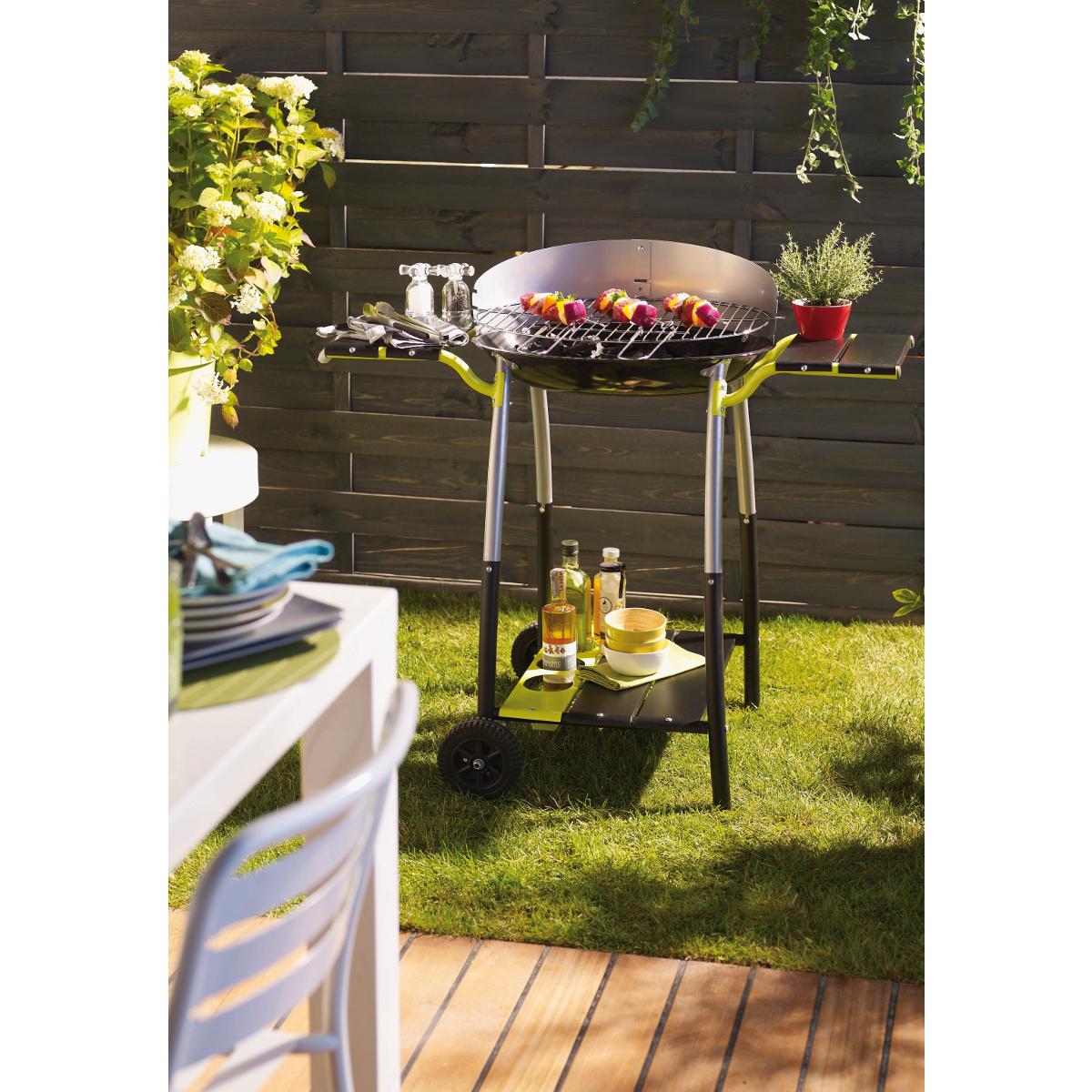 Barbecue curvi xl cookin garden for Barbecue de jardin