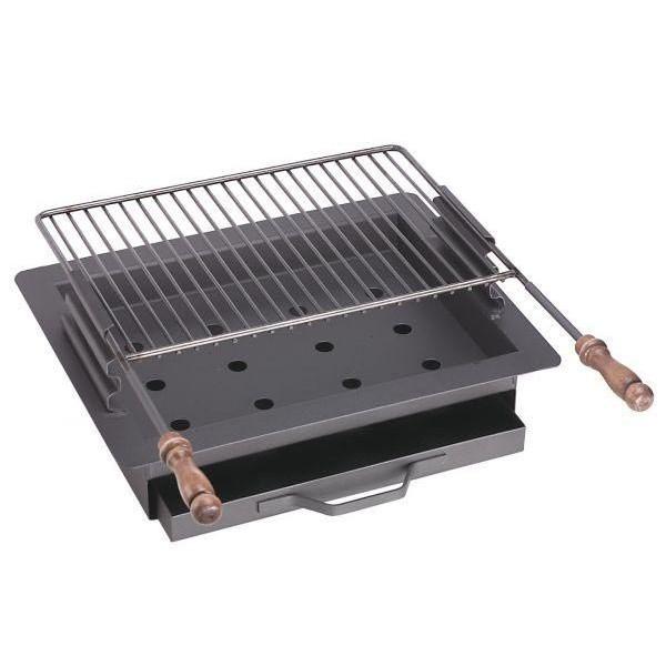 delta barbecue charbon de bois ensembles grillades encastrables n 15. Black Bedroom Furniture Sets. Home Design Ideas