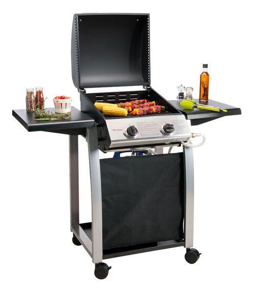 domoclip barbecue a gaz 2 bruleurs doc103. Black Bedroom Furniture Sets. Home Design Ideas