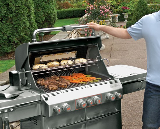 Weber summit s 470 - Barbecue vertical gaz ...