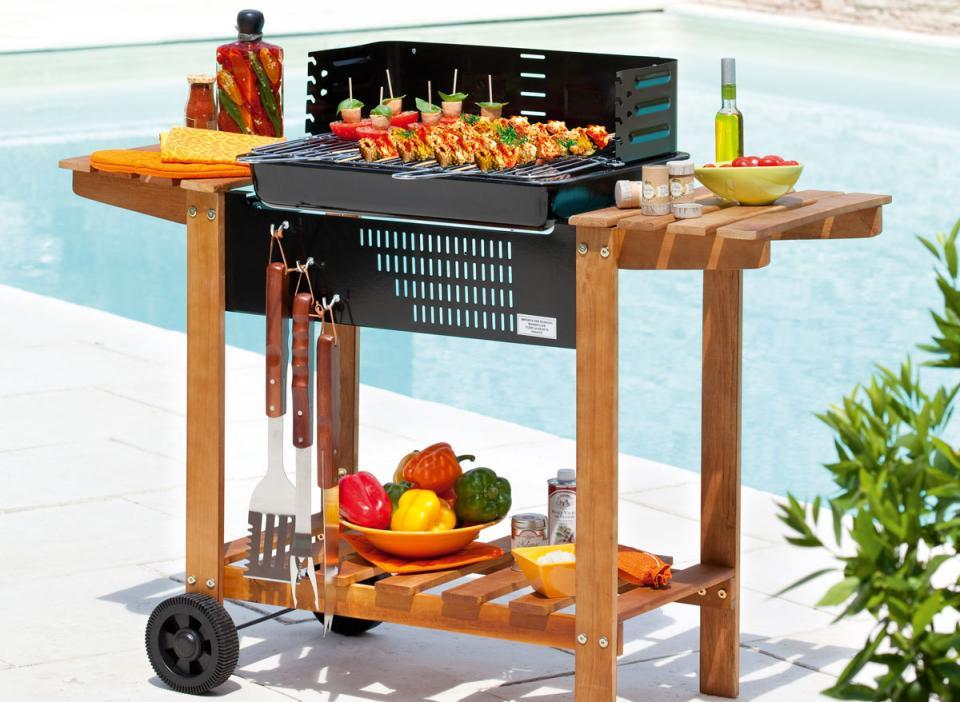 Grand Foyer Barbecue : Catégorie barbecue sur pied page du guide et comparateur