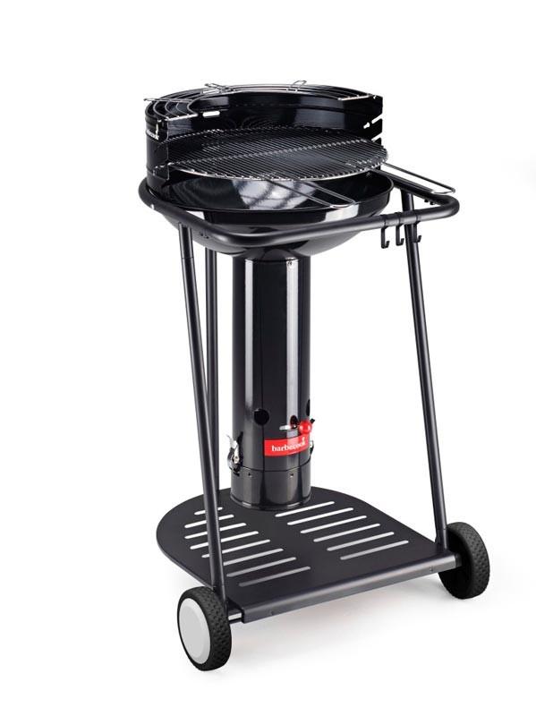 barbecook barbecue bois major go black. Black Bedroom Furniture Sets. Home Design Ideas