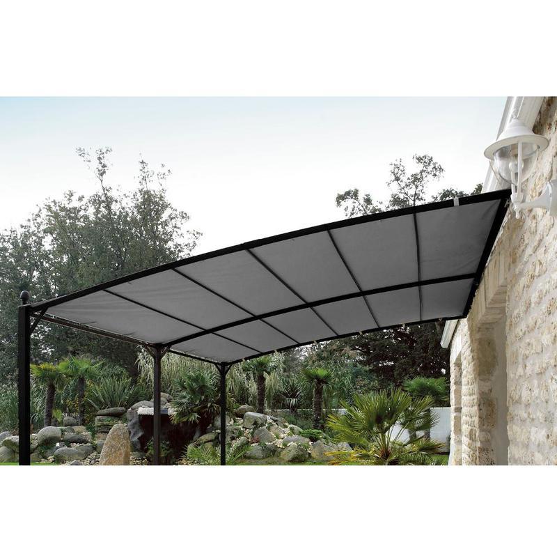 Proloisirs toile pour tonnelle privilege 300x400cm polyester for Toile pour tonnelle de jardin