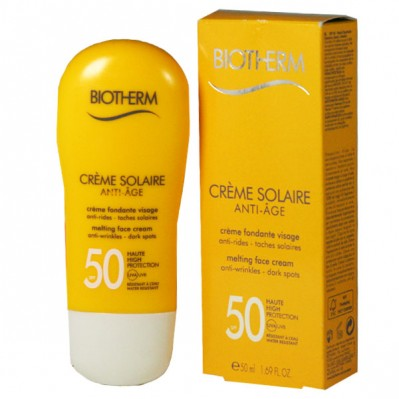 biotherm c cr me solaire anti age spf50 50ml. Black Bedroom Furniture Sets. Home Design Ideas