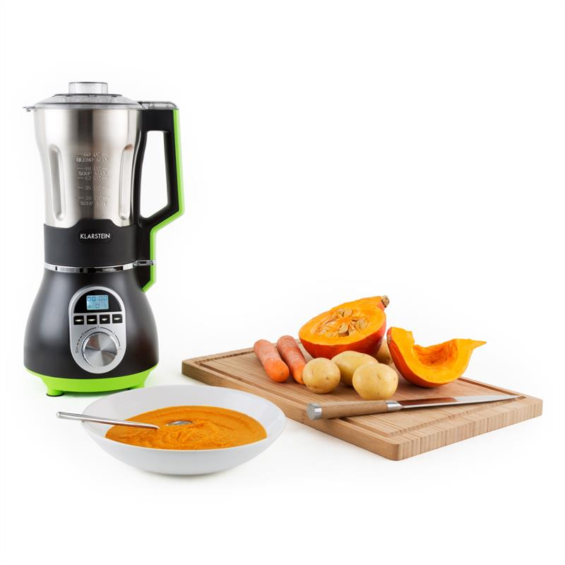 klarstein soup chef mixeur soupe acier 900w 1 75l vert catgorie blender. Black Bedroom Furniture Sets. Home Design Ideas