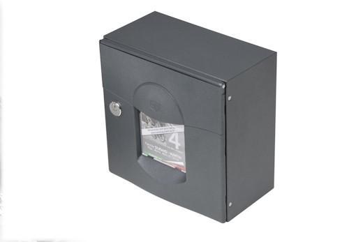 Boite aux lettres guide d 39 achat - Boite aux lettres 2 portes gris anthracite ...