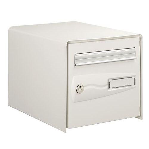 decayeux bo te aux lettres blanche normalis e la poste une. Black Bedroom Furniture Sets. Home Design Ideas