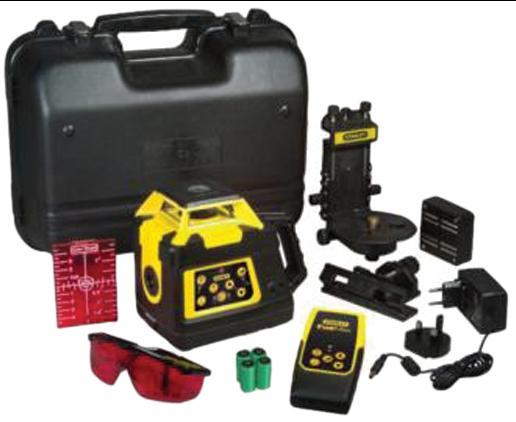 Niveau c laser rotatif int rieur ext rieur rlhv stanley for Niveau laser exterieur stanley