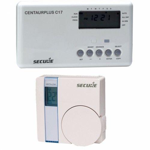 Abix secure programmateur de chauffage avec thermostat for Programmateur chauffage electrique sans fil