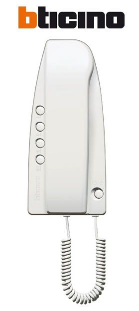 bticino combin interphone audio filaire sprint 334202. Black Bedroom Furniture Sets. Home Design Ideas