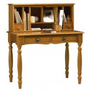 Bmpc meuble bonheur du jour blanc de style anglais blanc 4 - Avis beaux meubles pas cher com ...