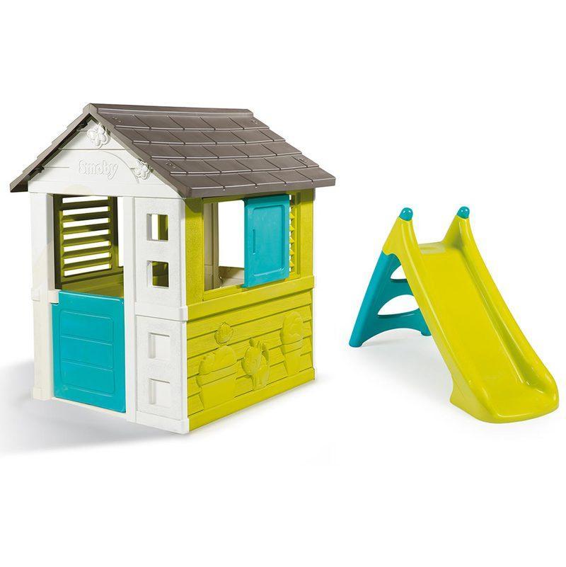 smoby ccabane enfant friends house. Black Bedroom Furniture Sets. Home Design Ideas