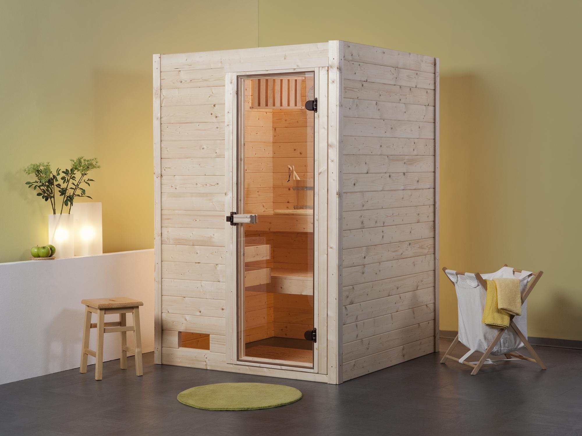 weka sauna vapeur bois massif valida 1. Black Bedroom Furniture Sets. Home Design Ideas