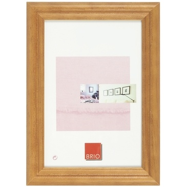 Brio cadre photo circe ton bois 40x50 cm - Cadre photo 40x50 ...