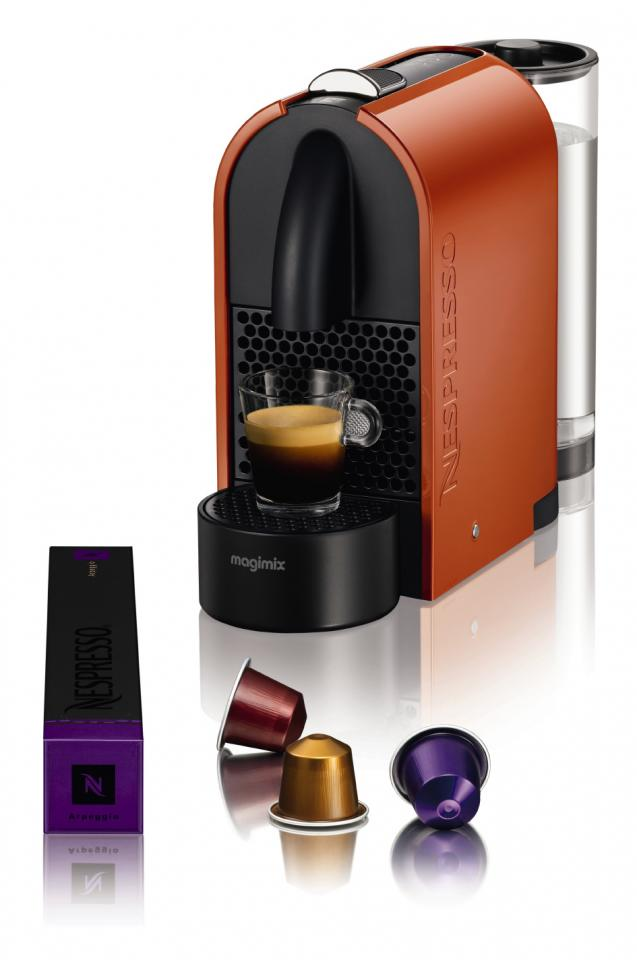 magimix 11341 nespresso u orange catgorie cafetire expresso. Black Bedroom Furniture Sets. Home Design Ideas