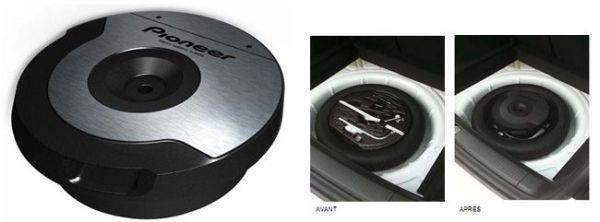 pioneer caisson amplifie ts wx610a catgorie caisson de. Black Bedroom Furniture Sets. Home Design Ideas