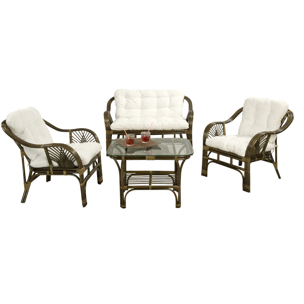 salon de jardin en rotin vintage mobilier d coration. Black Bedroom Furniture Sets. Home Design Ideas
