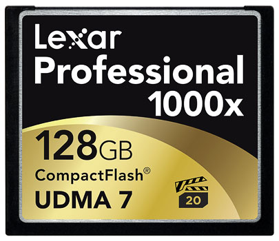 1000X Compact Flash Professional UDMA