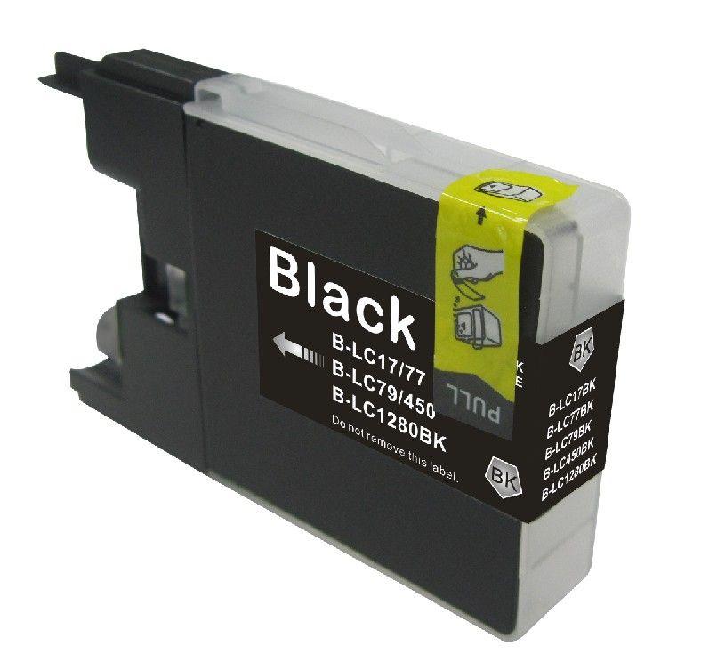 brother compatible lc 1220 1240 1280 noire. Black Bedroom Furniture Sets. Home Design Ideas