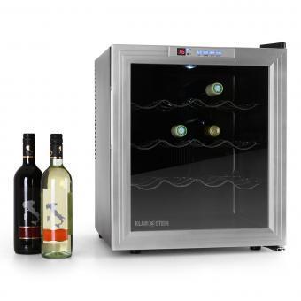 klarstein cave vin r frig r e 50 litres 16 bouteilles. Black Bedroom Furniture Sets. Home Design Ideas