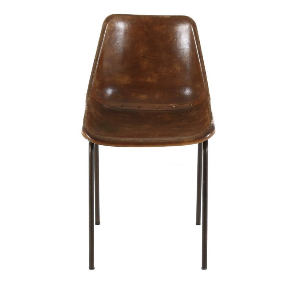 Catgorie chaises de salle manger du guide et comparateur d for Chaises cuir marron salle manger
