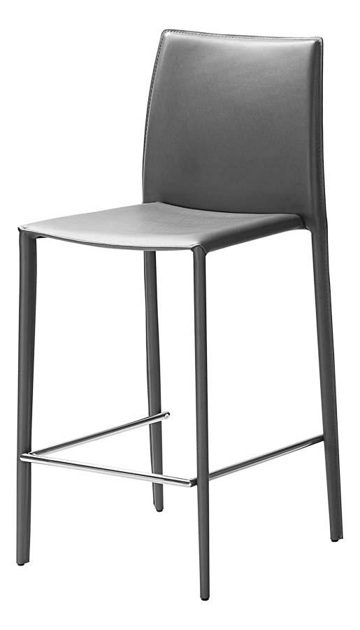 Id chaise haute grise borale lot de 2 clik for Chaise de salle a manger haute