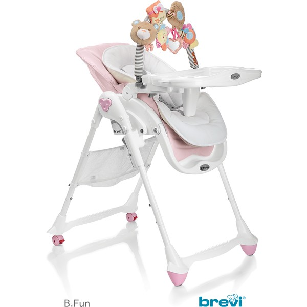 Rose Brevi fun B 2 Haute Chaise En 1 OwZXikPuT