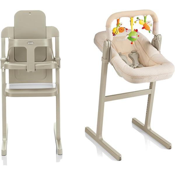 brevi chaise haute design slex evo dove grey gris col. Black Bedroom Furniture Sets. Home Design Ideas