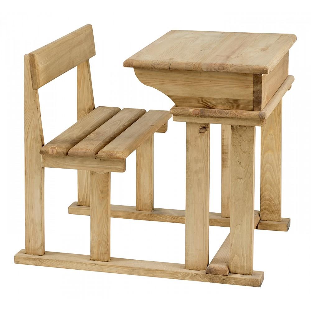 couleurs pupitre d colier en bois brut peindre dint ri. Black Bedroom Furniture Sets. Home Design Ideas