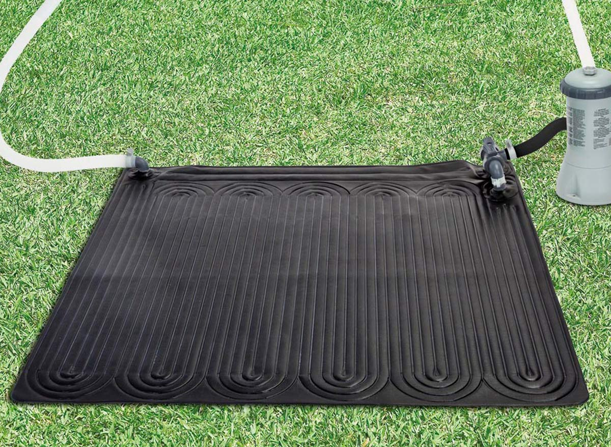 Intex tapis solaire for Chauffage solaire piscine compatible intex
