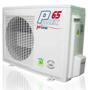 Poolstar pompe chaleur poolex jet line 6 5 kw 35 m3 for Chauffage piscine 6 kw