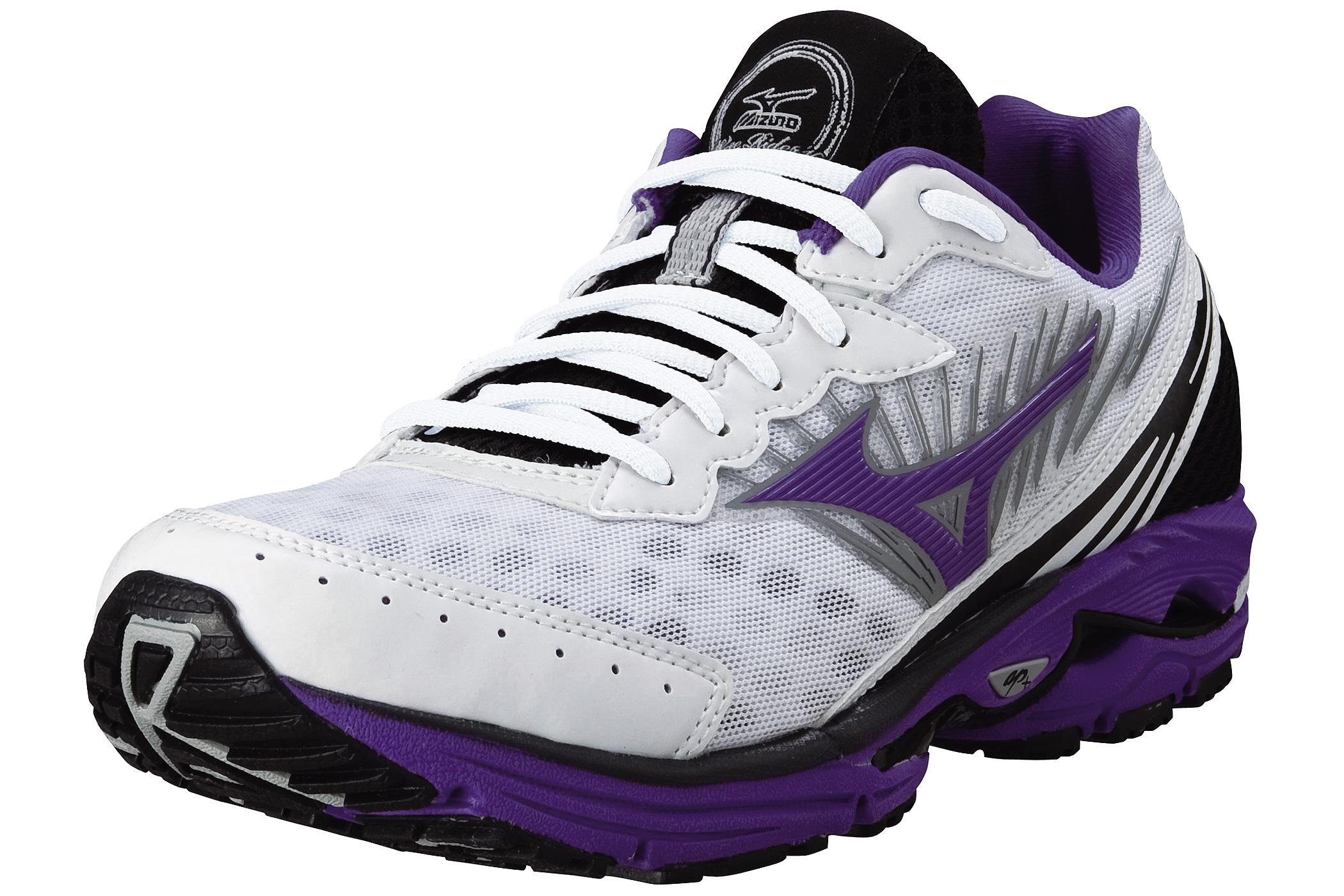 mizuno rider 16 chaussures sport femme wave blanc 2013 38. Black Bedroom Furniture Sets. Home Design Ideas
