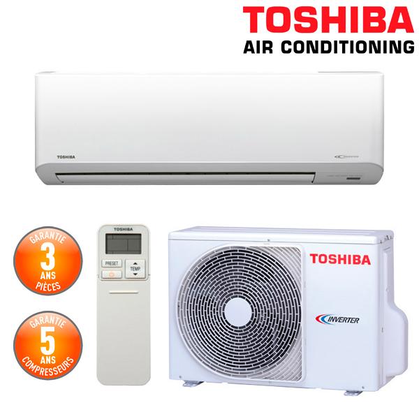 Toshiba climatiseur mural suzumi 16 ras 16n3av2 e for Achat climatiseur mural
