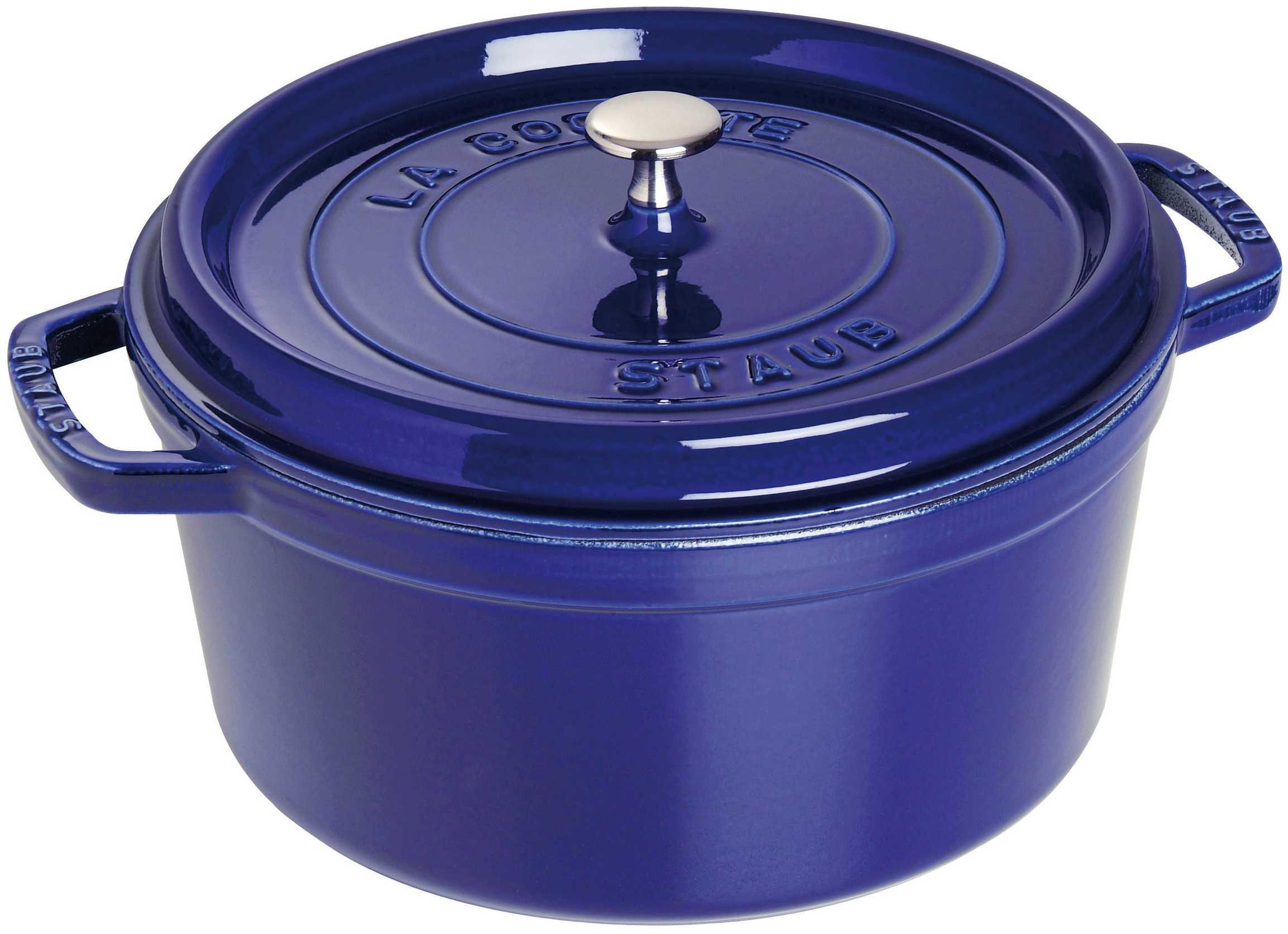 Référence produit  C Cocotte ronde 28,0 cm, 5,85 l, bleu intense, ada.  Marque  Staub Catégorie  Cocotte en fonte e8cc70f03e22