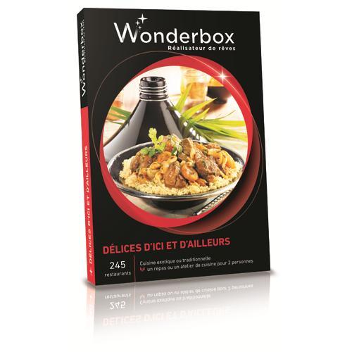 wonderbox coffret d lices dici et dailleurs. Black Bedroom Furniture Sets. Home Design Ideas