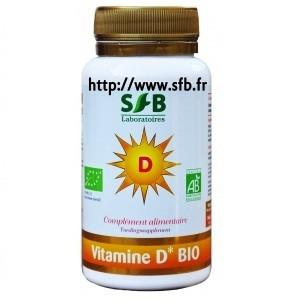 0a64075ec99 Référence produit  Vitamine D Bio - 90gl - Les Laboratoires Marque  Sfb  Catégorie  Complément aliment. santé