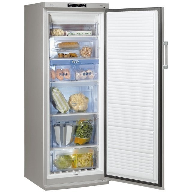 Whirlpool wv 1602 a nfx - Congelateur armoire inox froid ventile ...
