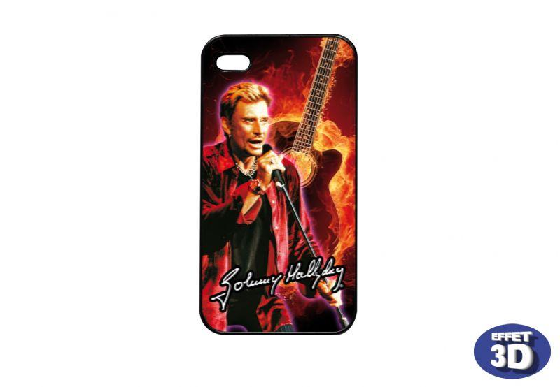 coque iphone 5 johnny hallyday