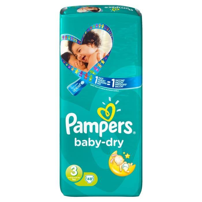 Catgorie couches et propret page 1 du guide et comparateur - Couches pampers baby dry taille 3 ...