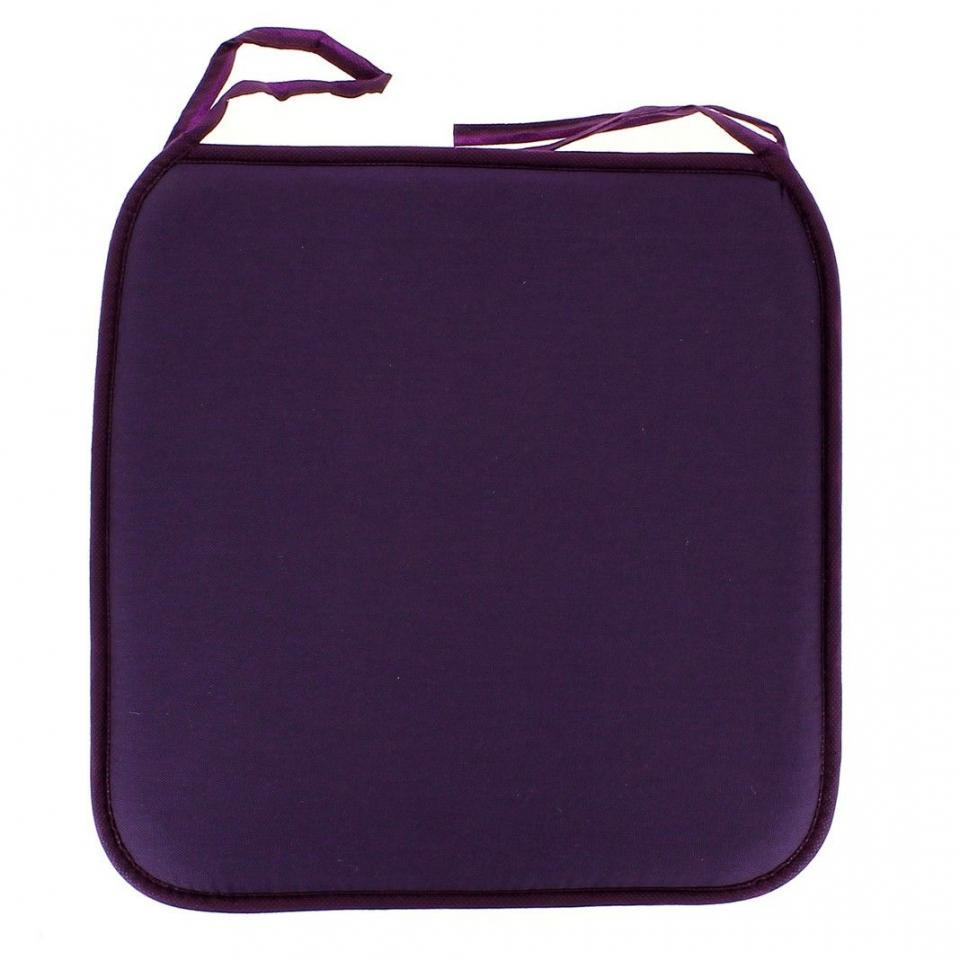 galette de chaise panama prune. Black Bedroom Furniture Sets. Home Design Ideas
