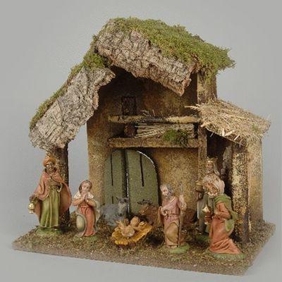 Catgorie crche et santon du guide et comparateur d 39 achat for Decoration creche noel