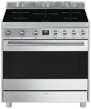 Smeg bouton gaz retro chrom pour cuisinire - Piano de cuisson induction ...