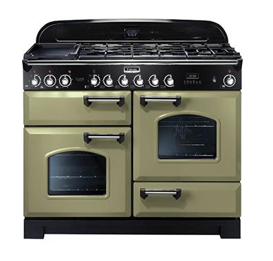 falcon uisini re 110 cm cdl110dfogc vert olive chrome. Black Bedroom Furniture Sets. Home Design Ideas