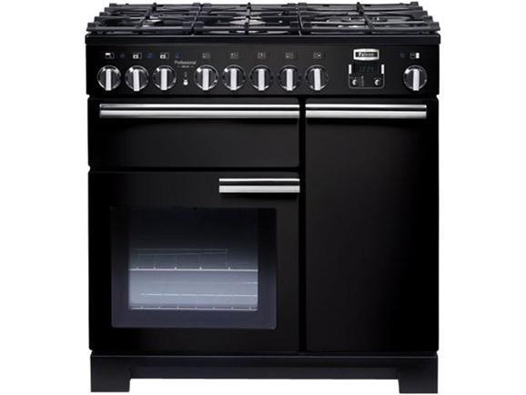Falcon kch90dfcr c eu piano de cuisson mixte for Table cuisson mixte gaz induction grande largeur