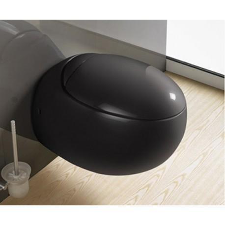 Catgorie cuvette wc du guide et comparateur d 39 achat - Cuvette wc suspendu noir ...