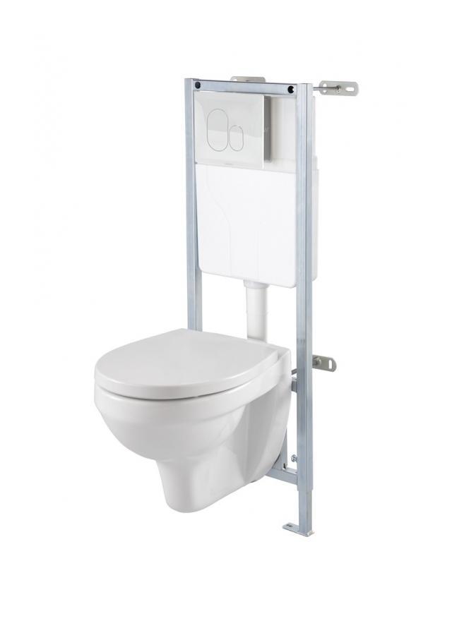 Catgorie cuvette wc du guide et comparateur d 39 achat - Pack wc suspendu noir ...